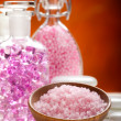 Stock Photo: Minerals - Spand wellness treatment
