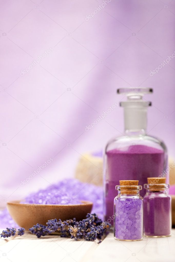 Lavender cosmetics — Stock Photo #6687995