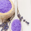 Lavender - aromatherapy treatment - Stok fotoğraf