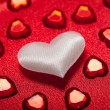 Stock Photo: Hearts - Valentine background