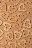 Złote serca — Zdjęcie stockowe
