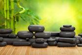 Massage stones — Stock Photo