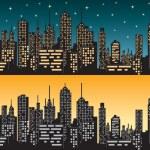 City skyline 1 — Stock Vector