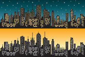 City skyline 1 — Stock Vector