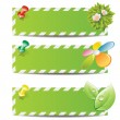 Eco banners - Stock Vector
