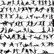 Royalty-Free Stock Vectorafbeeldingen: Sport silhouette