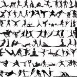 Sport silhouette — Stock Vector