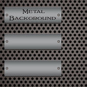 Metal background 1 — Stock Vector