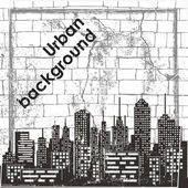 Urban background — Stock vektor