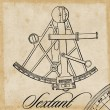 Sextant - Stock Vector