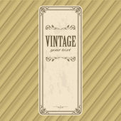 Vintage banner — Stock Vector