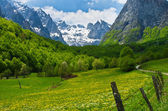 Montagne prokletije, monténégro — Photo