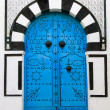 Door, Sidi Bou Said — Stock Photo