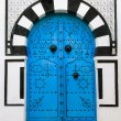Stock Photo: Door, Sidi Bou Said