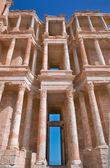 Antiguo anfiteatro en sabratha — Foto de Stock