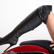 Leather Boot — Stock Photo #5795629