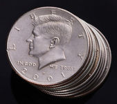 Kennedy Half Dollar — Stock Photo