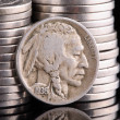 1936 Indian Head Buffalo Nickel — Stock Photo