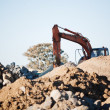 Earthmoving Equipment - Stockfoto