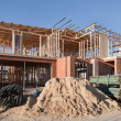 Stock Photo: House Construction