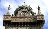 Архитектура в мавританском возрождения — Стоковое фото