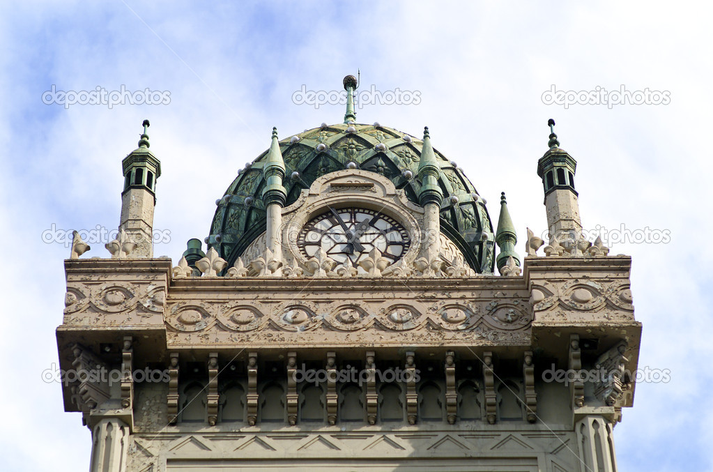 Detail close up of  Moorish Revival style architecture  Stock Photo #5914036