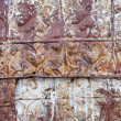 Pressed Tin Background — Stock Photo