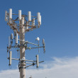 Cell Phone Antenna Tower — Stock Photo #6584864