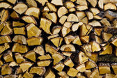 Wood. Stack of firewood. abstract background. — Stock Photo