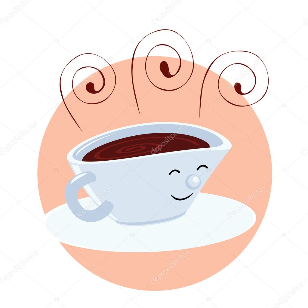 Animated Cup of Coffee http://depositphotos.com/5901485/stock-illustration-Cartoon-coffee-cup.html