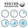 Stock vektor: Abstract stopwatches