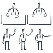 Sketch man — Stock Vector