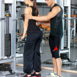 Couple at the gym — Stock Photo #5420228