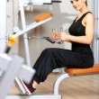 Woman at the gym — Stock Photo #5420263