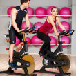 Couple at the gym — Stock Photo #5420268