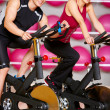Couple at the gym — Stock Photo #5420284