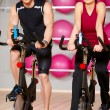 Couple at the gym — Stock Photo #5420291