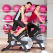 Couple at the gym — Stock Photo #5420311