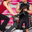 Couple at the gym — Stock Photo #5420318