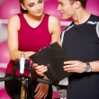 Couple at the gym — Stock Photo #5420324