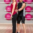 Couple at the gym — Stock Photo #5420366