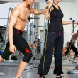 Couple at the gym — Stock Photo #5420384