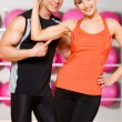 Couple at the gym — Stock Photo #5420411