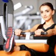Woman at the gym — Stock Photo #5420430
