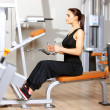 Woman at the gym — Stock Photo #5420436