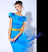 Female fashion model — Stock Photo