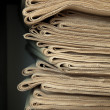 A stack of old newspapers. — Stock Photo #6560366
