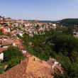Stock Photo: View from town Veliko Tarnovo in Bulgaria