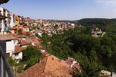 View from town Veliko Tarnovo in Bulgaria — Stock Photo