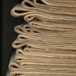 A stack of old newspapers. — Stock Photo #6598299